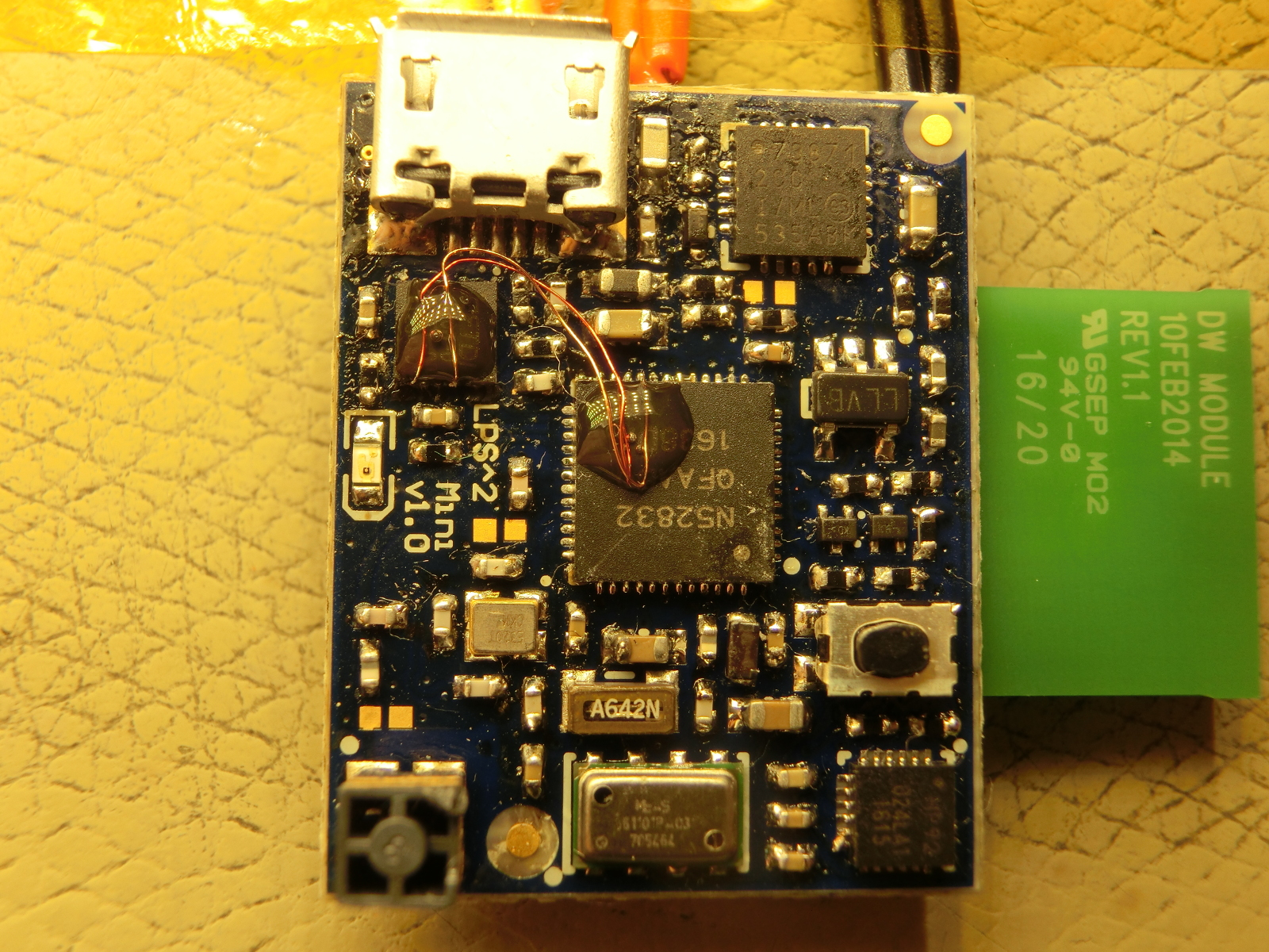 Lps Mini Wiringpi Eeprom What Is Not In The Cad Solved With Patch Wire